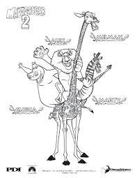madagascar king julian coloring pages eliolera com