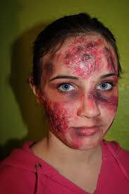 Kids Zombie Halloween Makeup by Fashionably Crafty Paris Diy Zombie Makeup Flesh How To Tutorial
