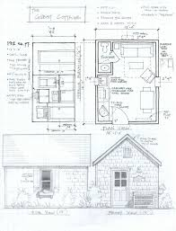 cabin blueprints free small cabin floor plans loft cottage building open unique
