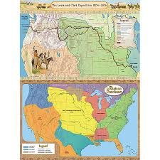 Lewis And Clark Map The Lewis U0026 Clark Expedition And The Louisiana Purchase Bulletin