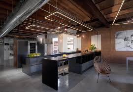 the industrial kitchen design is one of the unique decoration