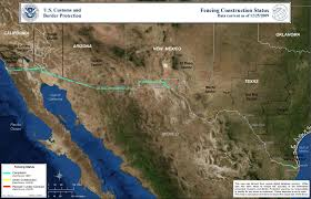 Mexico Wall Map Building Trump U0027s Wall Six Things To Know About The U S Mexico Border