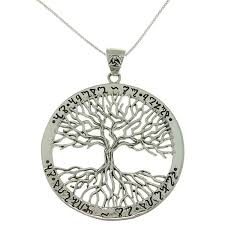 sterling silver tree of necklace free shipping today