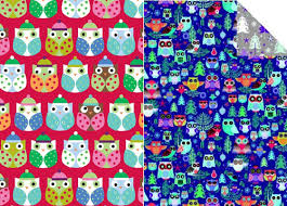 wrapping papers owl christmas wrapping papers happy holidays