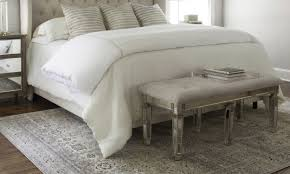 overstock area rug 5 ways to choose the perfect bedroom rug overstock com