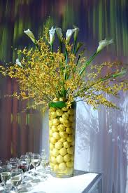 Calla Lily Vase Life Tall Vases Filled With Lemons And Calla Lilies Topped Bars And