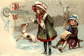 remodelaholic 25 free vintage christmas card images 12