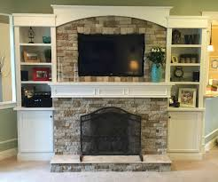 fireplace with built ins a stone veneer fireplace tips for design