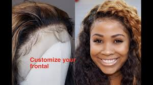 baby hair how to do baby hair customize your lace frontal ft laki hair