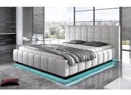 chambre 160x200 lit design kenzos 160x200 blanc
