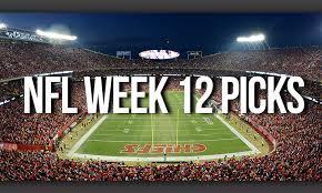 nfl week 12 picks a thanksgiving american football feast