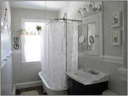 Design Clawfoot Tub Shower Curtain Rod Ideas Clawfoot Tub Shower Curtain Rod Curtain Home Decorating Ideas
