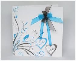 mariage bleu et blanc faire part de mariage 05a faire part naissance et faire part