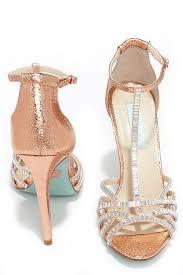 Rhinestone Sandal Heels Best 20 Rose Gold Heels Ideas On Pinterest Rose Gold Shoes