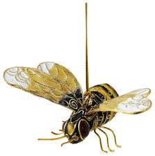 bumble bee ornament traditional ornaments by value