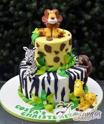 jungle theme cake two tier jungle theme cake cc82 1st birthday cakes amarantos