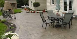 collection small concrete backyard ideas photos free home