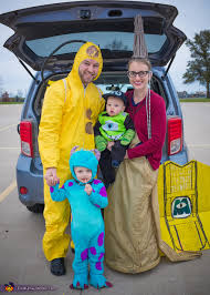 monsters characters family costume