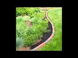 brick garden edging ideas youtube