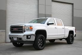 lifted gmc red 22 gmc sierra wallpapers hd high quality