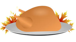 thanksgiving turkey dinner clip at clker vector clip