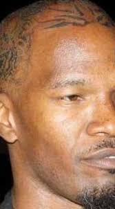 jamie foxx head tattoo hair transplant day trending
