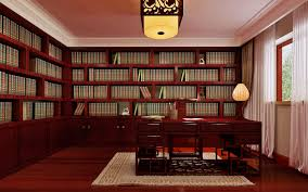 Chinese Home Decor by Chinese Style Whole Bookcase Desk Interior Design