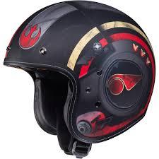 hjc helmets 2018 star wars collection mens is5 poe dameron helmet