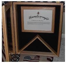 Military Flag Case Certificate Holder