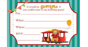 daniel tiger birthday invitations birthday ideas pbs