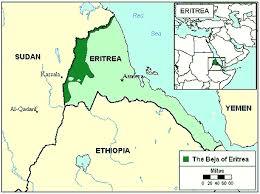 africa map eritrea beja hedareb in eritrea joshua project