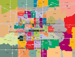 Chicago By Zip Code Map by Oklahoma City Zip Codes Map Zip Code Map