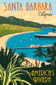 California travel posters images Steve thomas see america series vintage style illustrated travel gif
