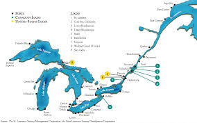 st seaway map file great lakes and st seaway navigation png wikimedia