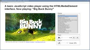 Copyright Html5 Html5 Guidelines For Web Developers Chapter 4 Video And Audio