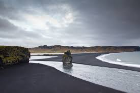 black sand beach vik iceland imgur
