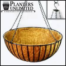 hanging planter basket large commercial mega hanging baskets planters unlimited