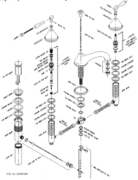delta kitchen faucet repair kit parts diagram for delta single