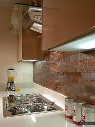 Rusty Brown Slate Mosaic Backsplash by Best 25 Slate Backsplash Ideas On Pinterest Kitchen Granite