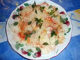 cuisiner du radis noir recette de carpaccio de radis noir par jeanmerode