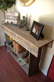 Large Console Table Wood Farmhouse Console Table Large Entry Table Sofa Table