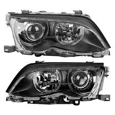bmw headlights at night bmw headlight assembly pair parts view online part sale