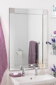 Stick On Frames For Bathroom Mirrors by Bathroom Cabinets Stick On Mirror Frame Silver Bathroom Mirror