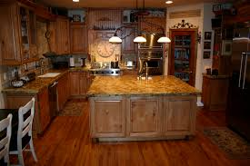 interior incredible authentic wood eco friendly kitchen with