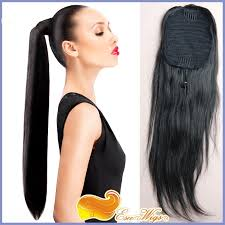 ponytail hair extensions 7a hair ponytail wrap hair