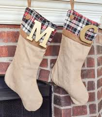 Christmas Stocking Decorations With Glitter by Best 25 Christmas Stockings Ideas On Pinterest Diy Christmas