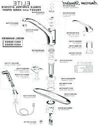 parts of a kitchen faucet kitchen sink faucet parts and 41 moen kitchen faucet parts aerator