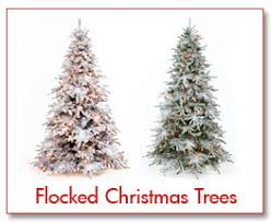 tree flocking flocked artificial trees diy