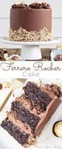 this ferrero rocher cake is your favourite chocolate hazelnut