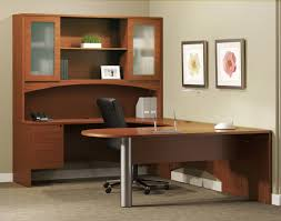 u shaped desk home office with hutch u2014 l shaped and ceiling do